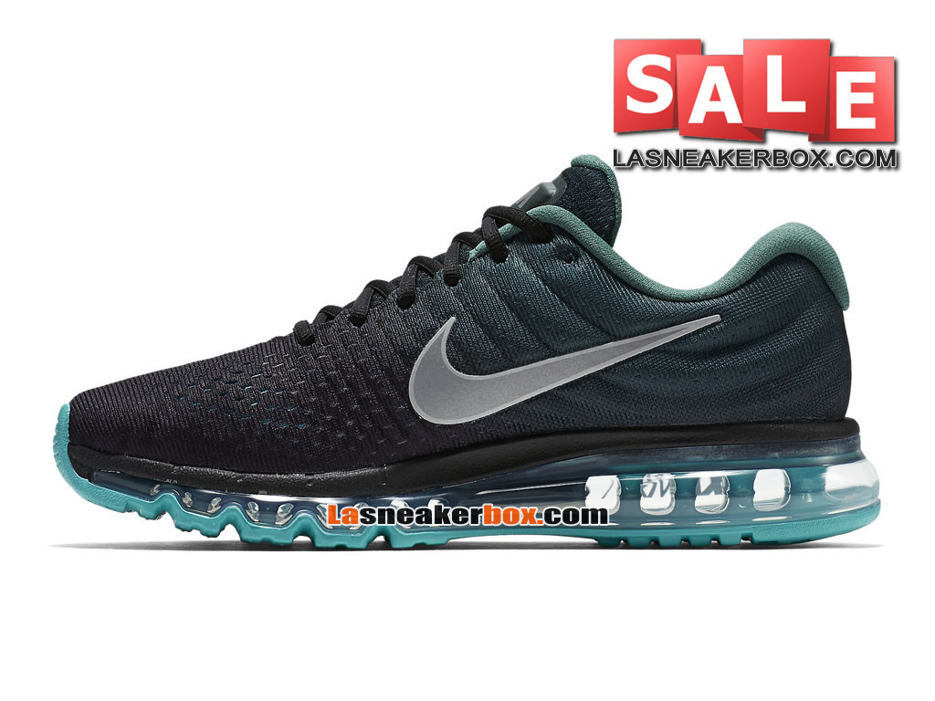 new styles 9ee72 26ab4 ... Nike Air Max 2017 - Men´s Nike Running Shoe Black Green Stone  ...