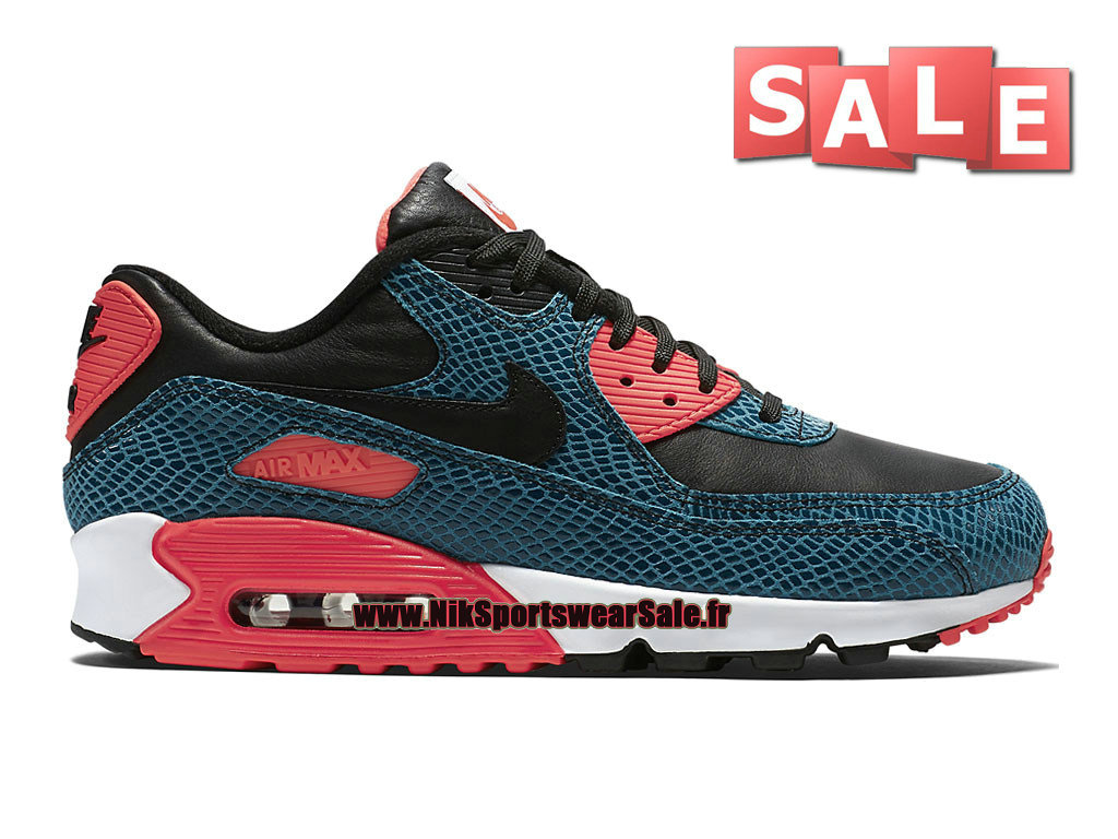 Nike Air Max 90 Anniversary - Chaussure Nike Sportswear Pas Cher Pour Homme Cactus poussiéreux/Infrarouge/Blanc/Noir 725235-300