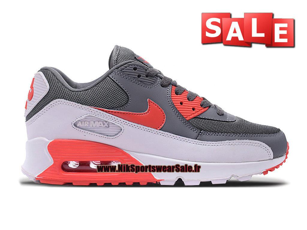on sale 0e912 8dc7e Nike Air Max 90 Essential - Chaussure Nike Sportswear Pas Cher Pour Homme  Gris foncé