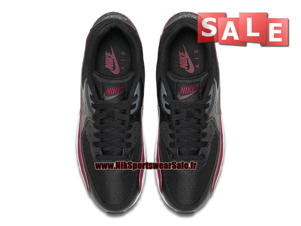 uk availability 7166c ba3ec ... Nike Air Max 90 Essential - Men´s Nike Sportswear Shoe Black University  Red ...