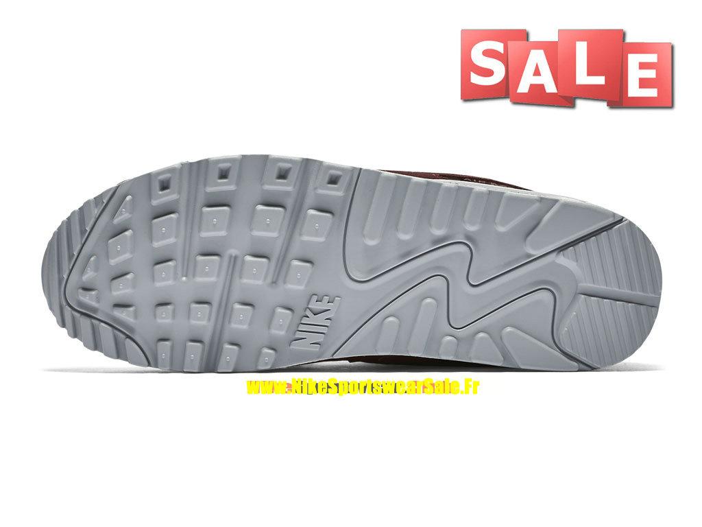 separation shoes d61e9 b3c93 ... Nike Air Max 90 Essential - Chaussure Nike Sportswear Pas Cher Pour  Homme Rouge sportif  ...