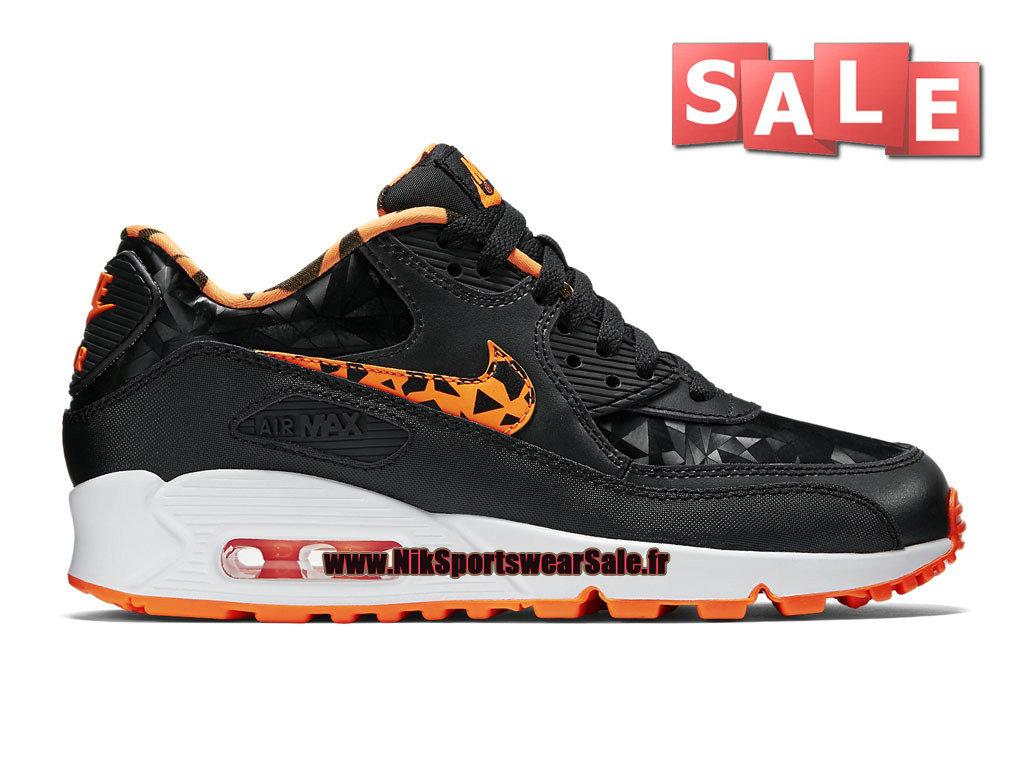 official photos 45804 47613 Nike Air Max 90 FB - Chaussure Nike Sportswear Pas Cher Pour Homme Noir Blanc  ...