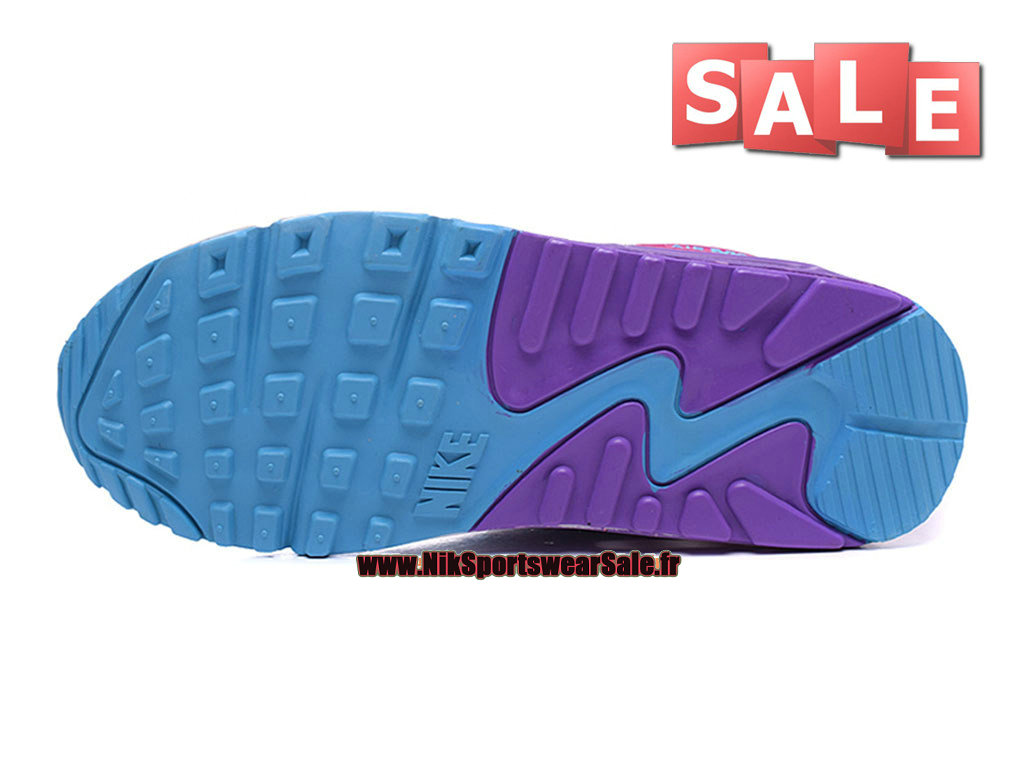 separation shoes d357a 2111b ... Nike Air Max 90 Flyknit GS - Chaussures Nike Sportswear Pas Cher Pour  Femme Fille ...