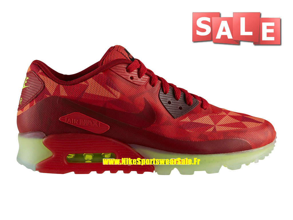 new style 80eeb f2329 Nike Air Max 90 Ice - Men´s Nike Sports Shoe Gym Red University