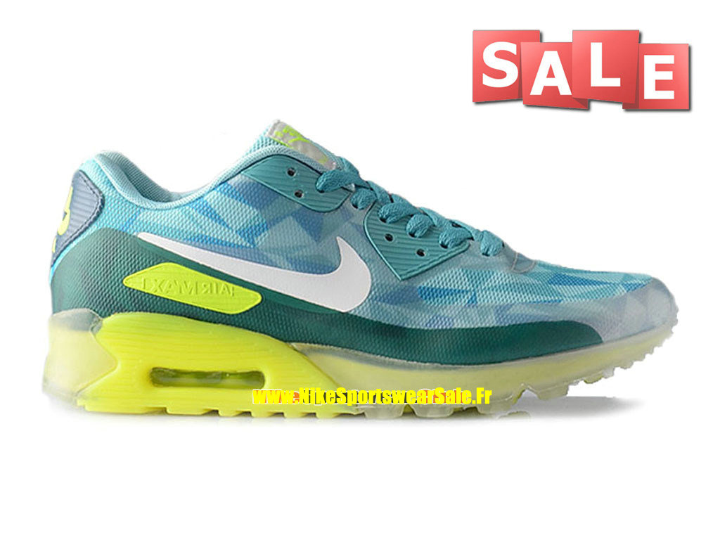 big sale 2c124 98294 Nike Air Max 90 Ice - Men´s Nike Sports Shoe Turquoise Volt-