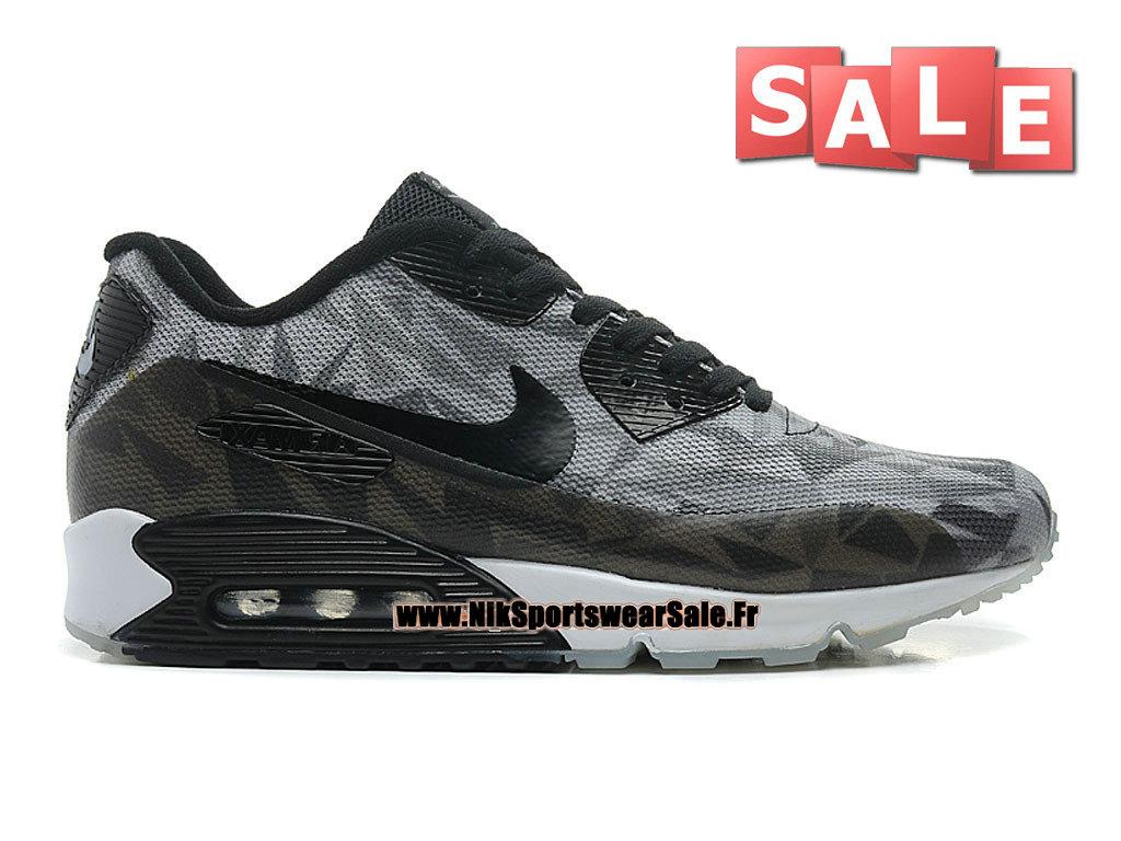 Nike Wmns Air Max 90 JCRD Chaussures Nike Sportswear Pas Cher Pour FemmeEnfant Rouge sportifCramoisi clairGris loupNoir 631750 601G Officiel de