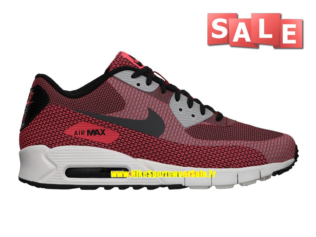 727a78f085d Nike Air Max 90 JCRD Jacquard - Chaussures Nike Sportswear Pas Cher Pour  Homme Cramoisi ...
