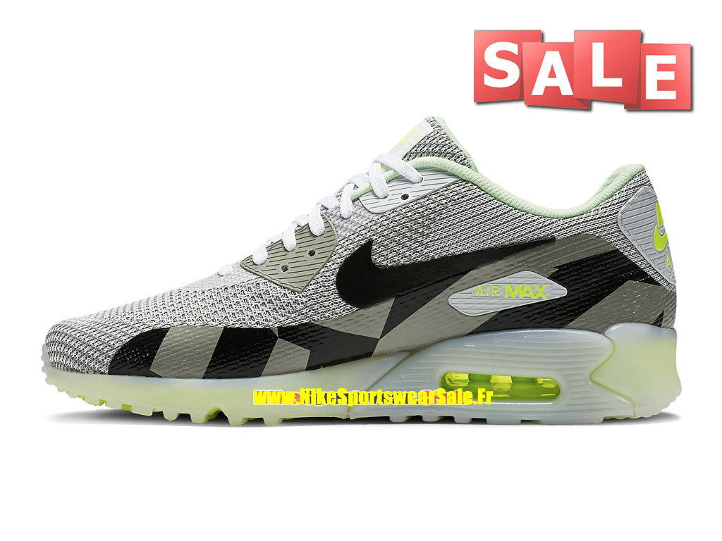 new style 5c689 b6f7e ... Nike Air Max 90 Knit Jacquard Ice QS - Chaussures Nike Sportswear Pas  Cher Pour Homme ...