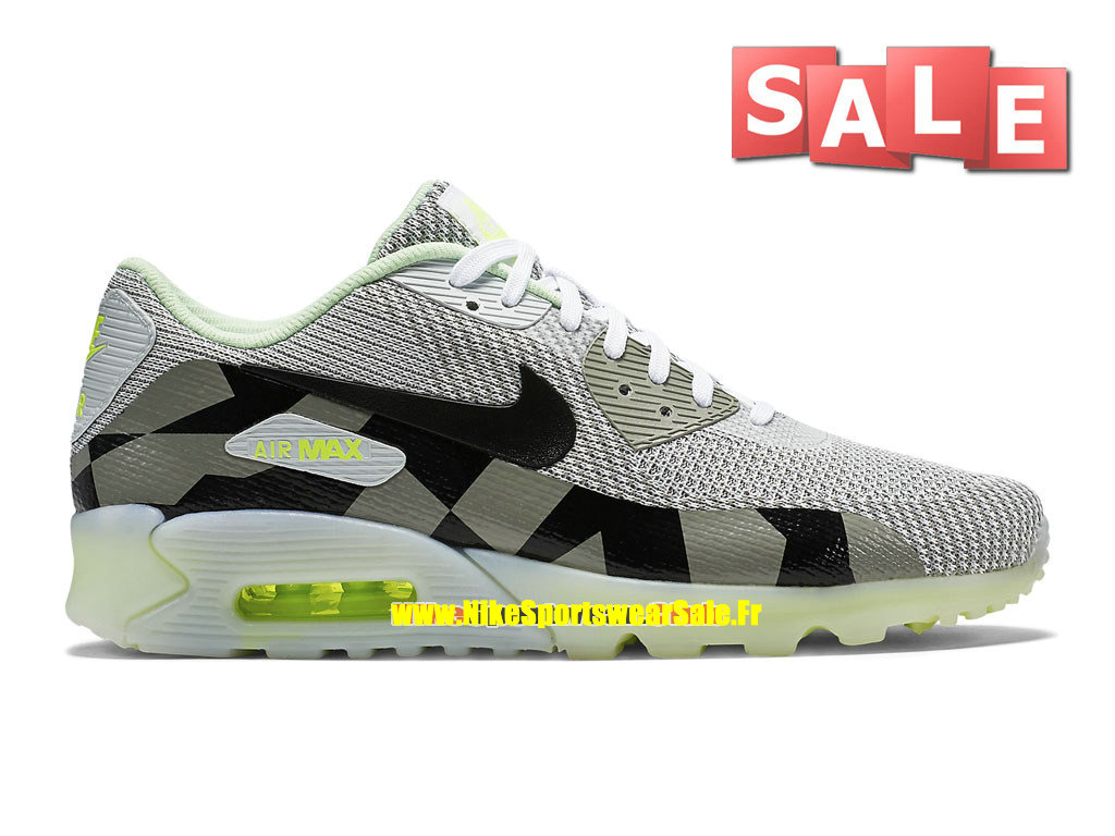 best service 5b34c 08b5c Nike Air Max 90 Knit Jacquard Ice QS - Chaussures Nike Sportswear Pas Cher  Pour Homme