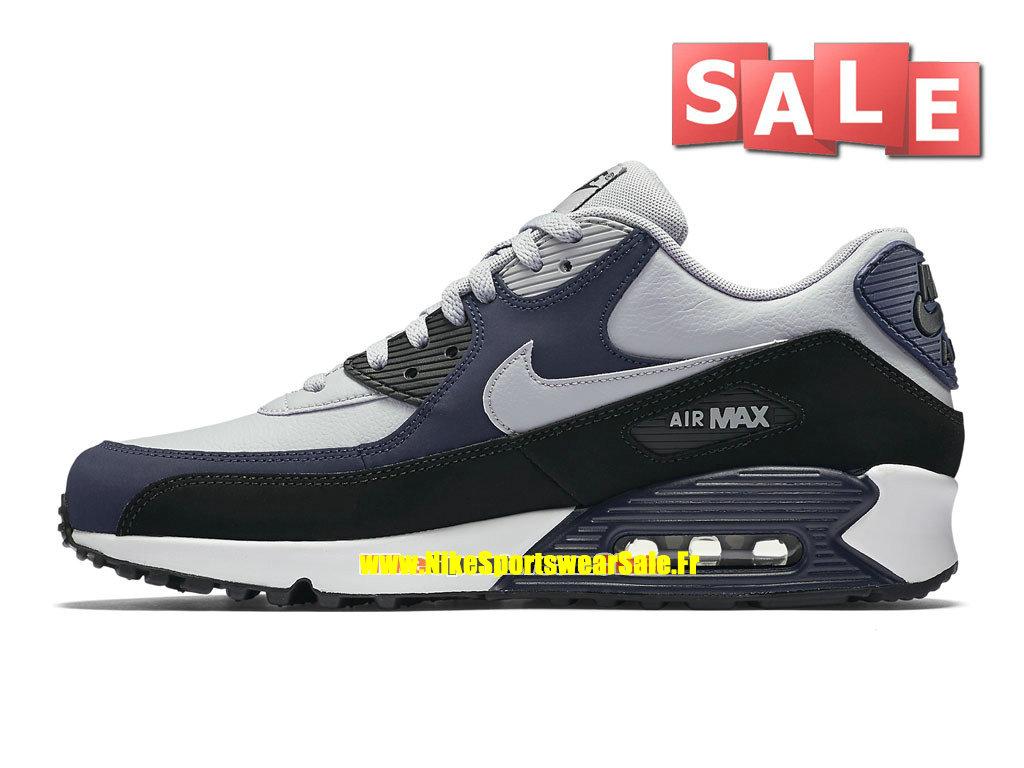hot sale online 5d7ca 94d6f ... Nike Air Max 90 Leather (LTR) - Chaussure de Nike Sports Pas Cher Pour  ...