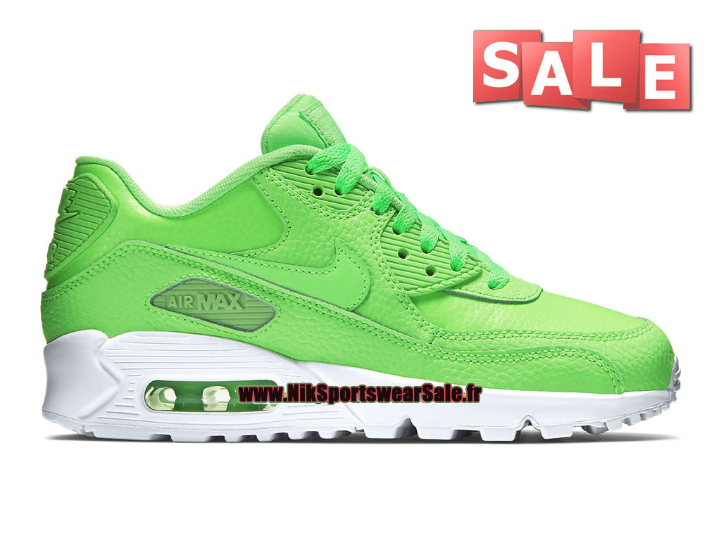lowest price 9f5a8 1b7ae ... 50% off nike air max 90 leather ltr gs womens kids sports db936 93f8b