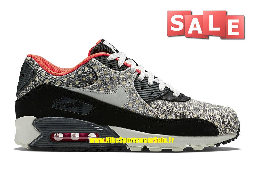 Nike Air Max 90 LTR 08 Premium - Chaussure Nike Sportswear Pas Cher Pour  Homme Noir ... c510a03a0