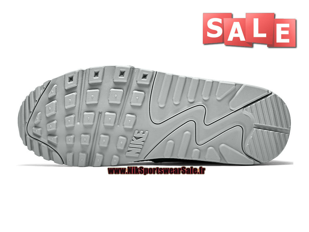 grand choix de 51966 33273 Nike Air Max 90 Mesh GS - Chaussure Nike Sportswear Pas Cher Pour  Femme/Enfant Platine pur/Argent métallique/Rose framboise/Limonade ...