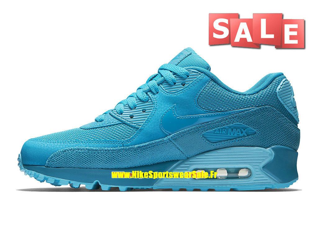 new concept 7bd87 bd028 ... Nike Air Max 90 Premium - Men´s Nike Sportswear Shoe Light Blue  Lacquer ...