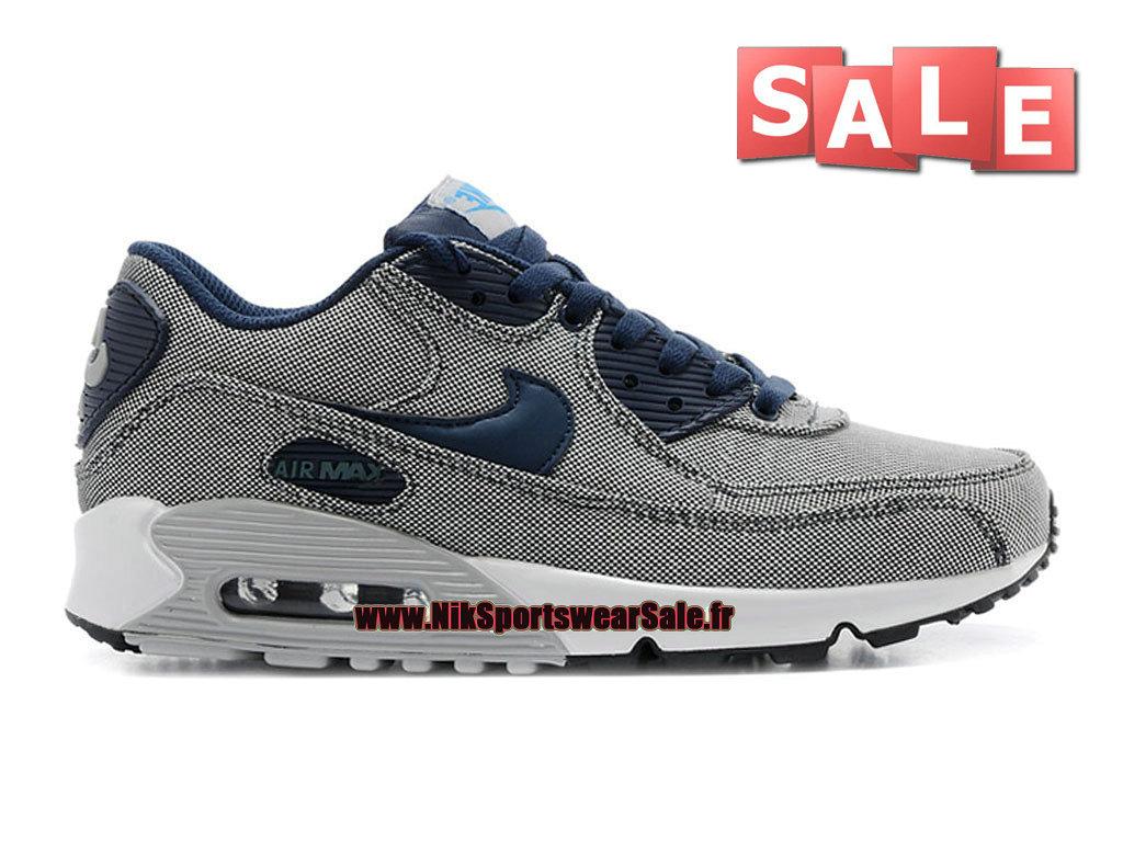 big sale e4ee6 a8eee ... authentic nike air max 90 premium mens nike sportswear shoes obsidian  new slate 04f26 8114b