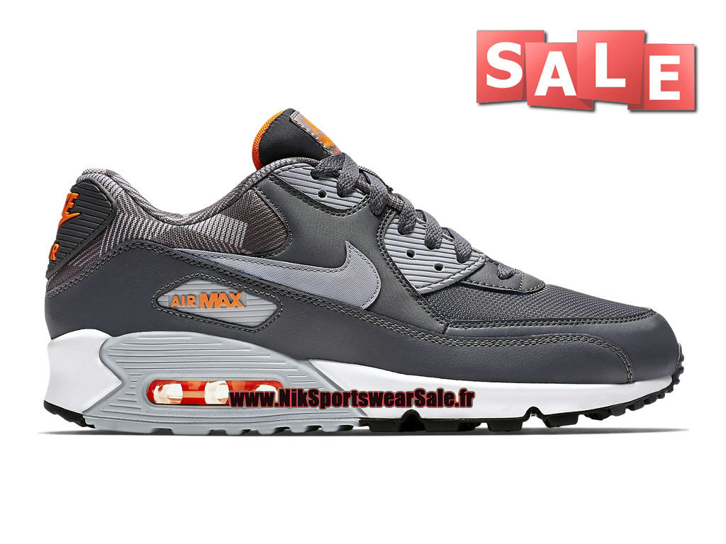 sports shoes c406a a939a Nike Air Max 90 Print - Men´s Nike Sportswear Shoes Dark Grey Wolf ...