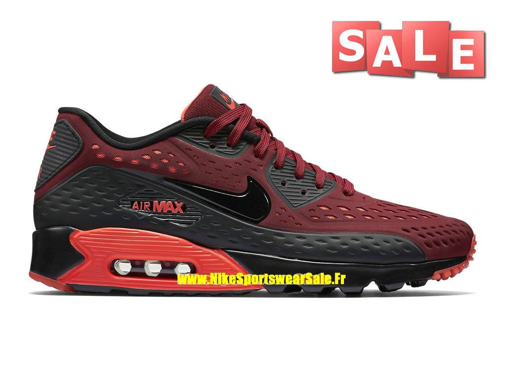 huge discount a1fa4 892f4 Accueil → Hommes → Nike Air Max 90 → Nike Air Max 90 Ultra BR Breathe -  Chaussure Nike Sportswear Pas Cher Pour Homme Rouge équipe Cramoisi brillant  Noir ...