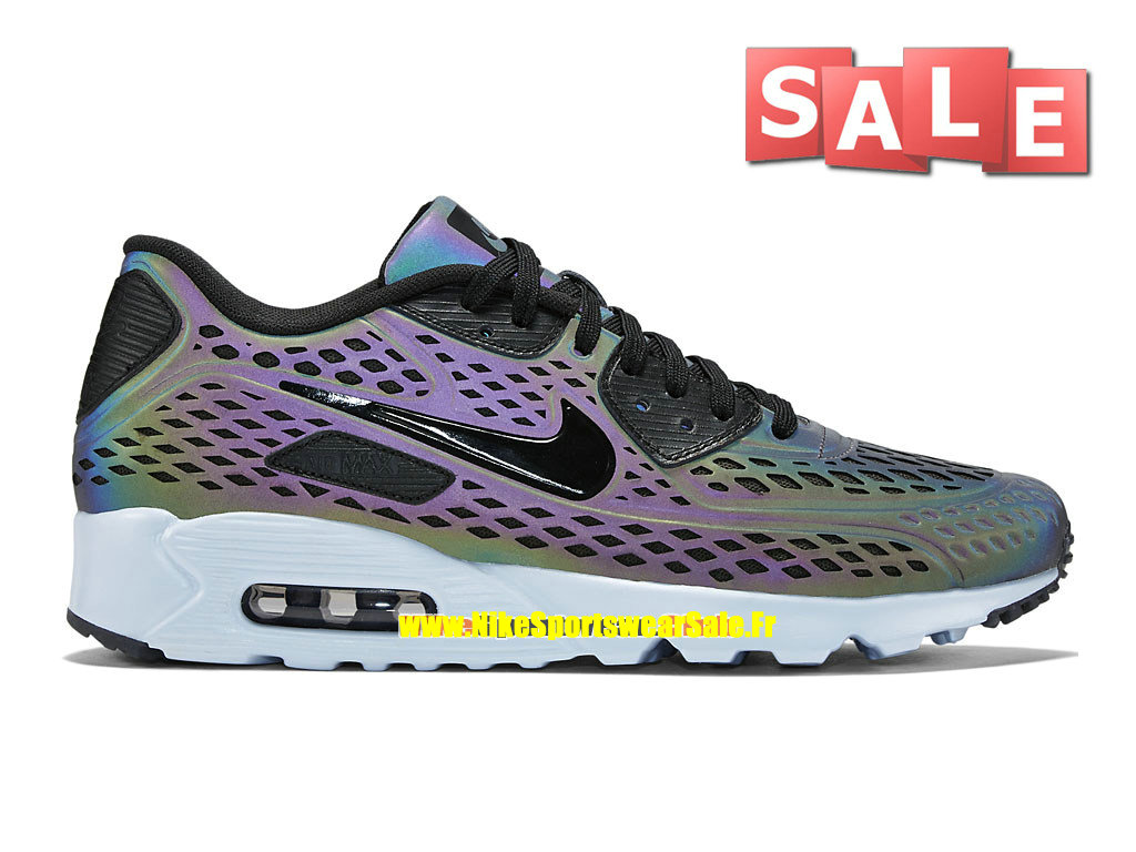 huge selection of 9714a 8256f Nike Air Max 90 Ultra Moire - Chaussure Nike Sportswear Pas Cher Pour Homme  Étain profond ...