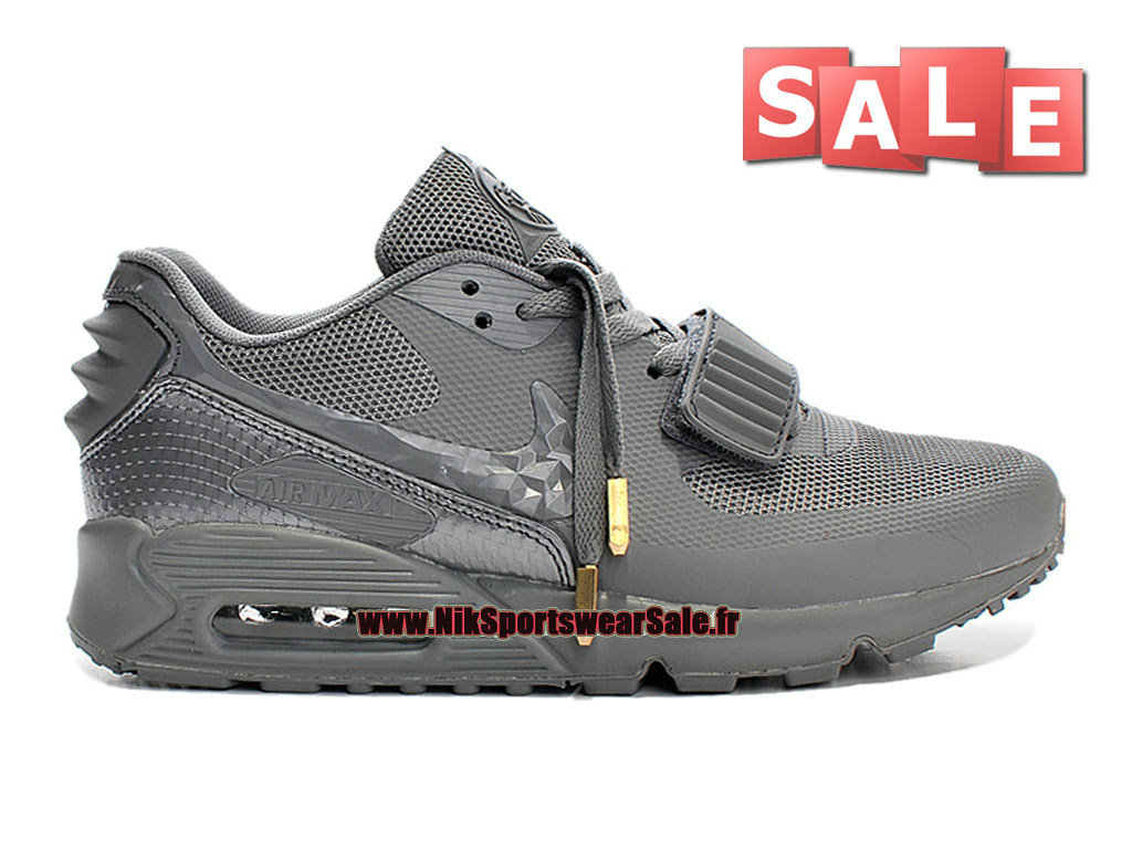 more photos c3167 1f4cb Nike Air Max 90 Yeezy 2 Design by Blkvis - Chaussure Nike Sportswear Pas  Cher Pour