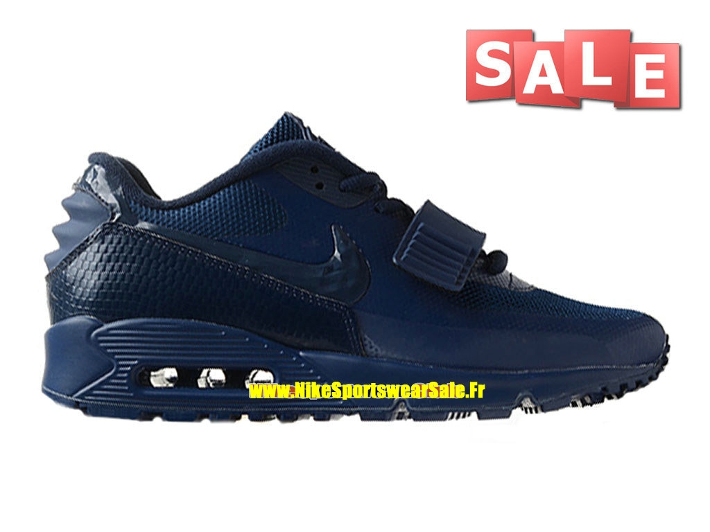 Nike Air Max 90 Yeezy 2 Design by Blkvis - Chaussure Nike Sportswear Pas Cher Pour Homme Navy Bleu 508214-008