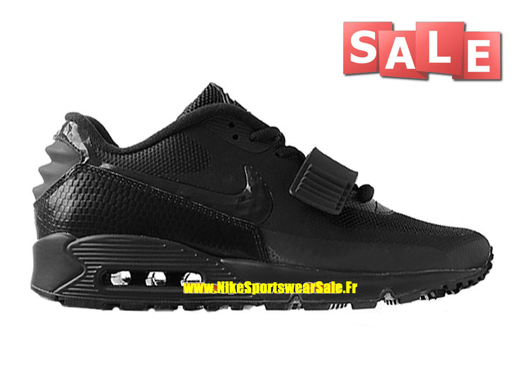 Nike Air Max 90 Yeezy 2 Design by Blkvis - Chaussure Nike Sportswear Pas Cher Pour Homme Noir 508214-007