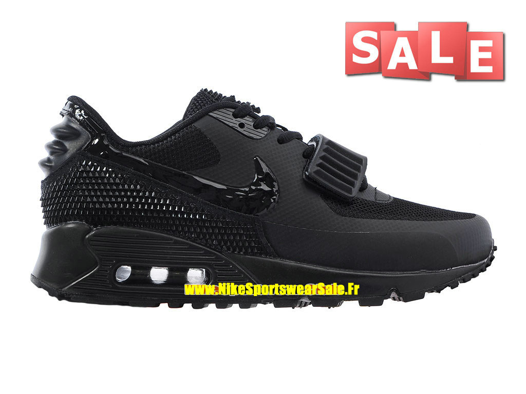 Nike Air Max 90 Yeezy 2 SP (Blkvis) - Chaussure Nike Sportswear Pas Cher Pour Homme Noir 508214-602iD