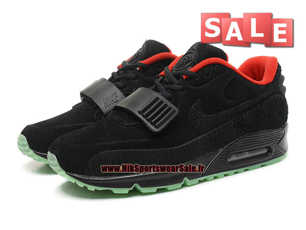 reputable site 6c58a cb20c ... Nike Air Max 90 Yeezy X BLKVIS Gallery GS - Chaussure Nike Sportswear  Pas Cher Pour ...