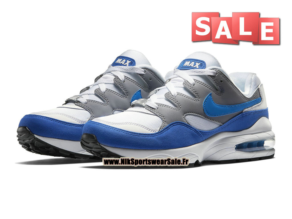 0fd8156779 ... Nike Air Max 94 - Chaussures Nike Sportswear Pas Cher Pour Homme Gris  loup/Blanc ...