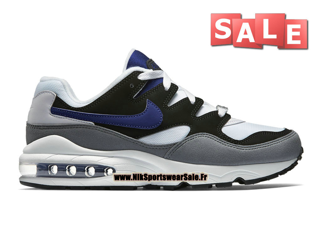 buy popular 48607 9f963 Nike Air Max 94 - Chaussures Nike Sportswear Pas Cher Pour Homme Noir Blanc   ...