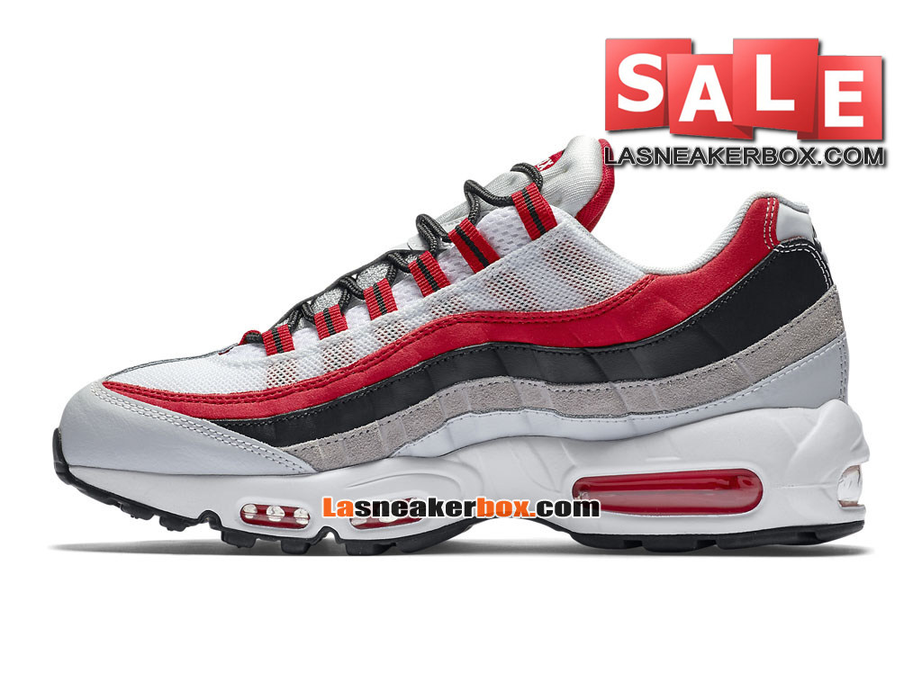 online store e7170 083d7 ... Nike Air Max 95 Essential (GS) - Chaussures Nike Sportswear Pas Cher  Pour Femme ...