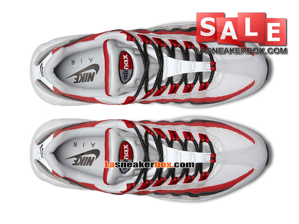 online store c1651 28ff4 ... Nike Air Max 95 Essential (GS) - Chaussures Nike Sportswear Pas Cher  Pour Femme ...