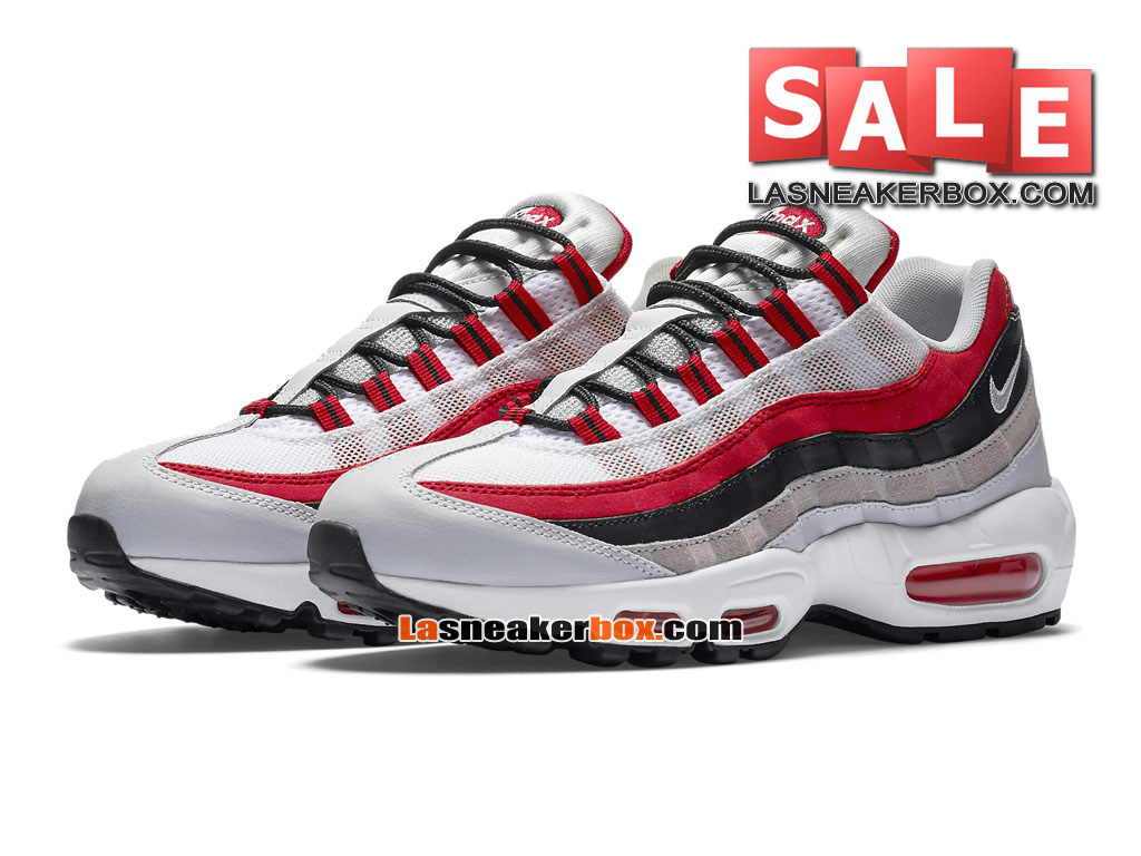 online store a6c6b f6896 ... Nike Air Max 95 Essential (GS) - Chaussures Nike Sportswear Pas Cher  Pour Femme ...