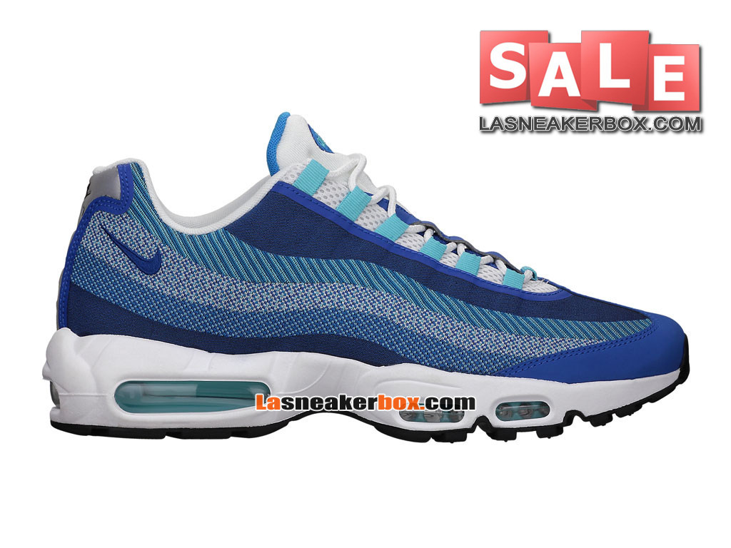 new style 44ad4 6fa64 Nike Air Max 95 Jacquard - Chaussures Nike Sportswear Pas Cher Pour Homme  Bleu photo  ...
