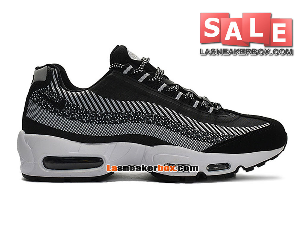 new style 51780 fdc83 Nike Air Max 95 Jacquard - Men´s Nike Sports Shoes Black Dark Grey