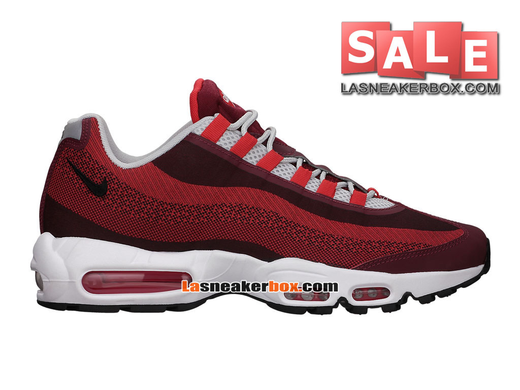 new products f66b3 1f23e Nike Air Max 95 Jacquard - Men´s Nike Sports Shoes University Red Team