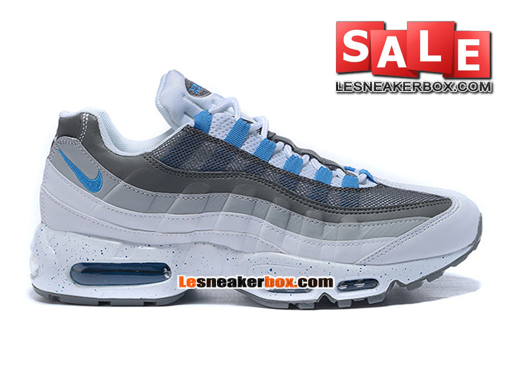 buy popular 4a7cd 09e6b Nike Air Max 95 - Men´s Nike Sportswear Shoe White Hyper Cobalt