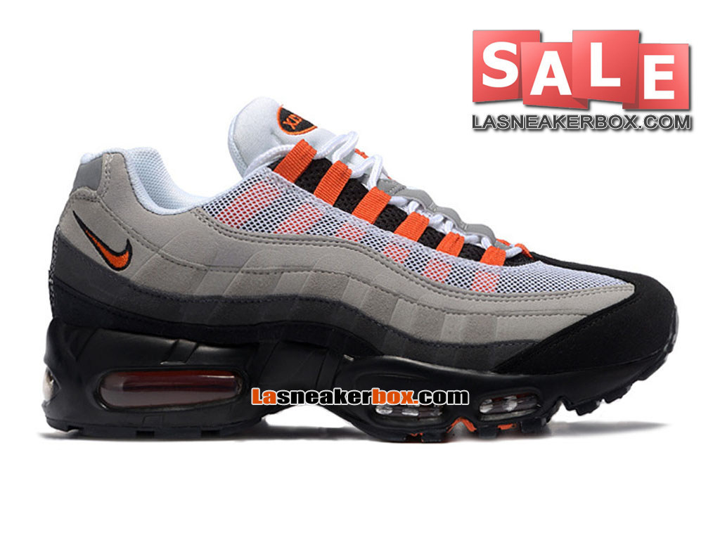 low priced d4235 aab45 Nike Air Max 95 - Men´s Nike Sportswear Shoe White Team Orange