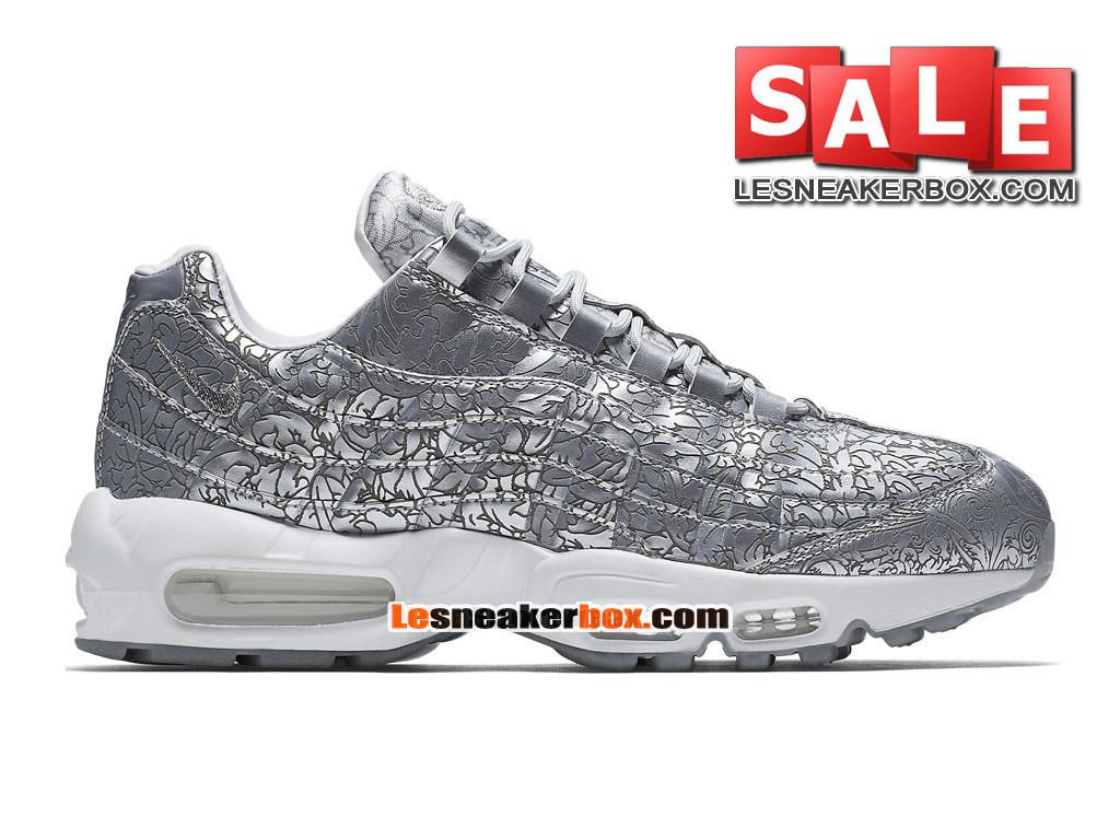 ... Nike Air Max 95 - Nike Sportswear Chaussure Pas Cher Pour Homme Gris  foncé/Noir ...
