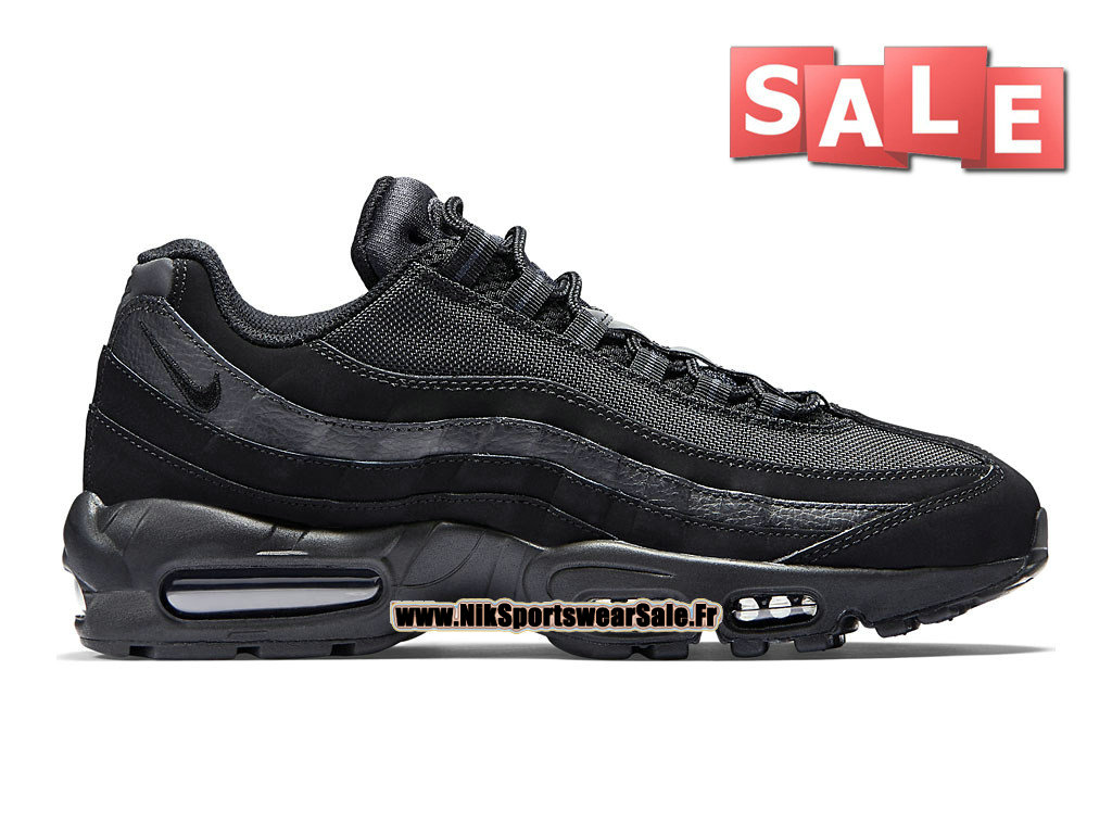 Nike Air Max 95 - Nike Sportswear Chaussure Pas Cher Pour Homme Noir/Anthracite-  ...