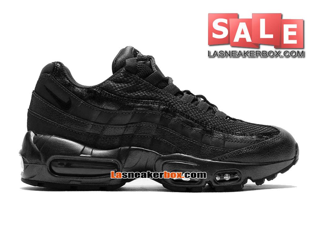 detailed look 1464f e4673 Nike Air Max 95 Premium - Men´s Nike Sports Shoe Metallic Hematite Black