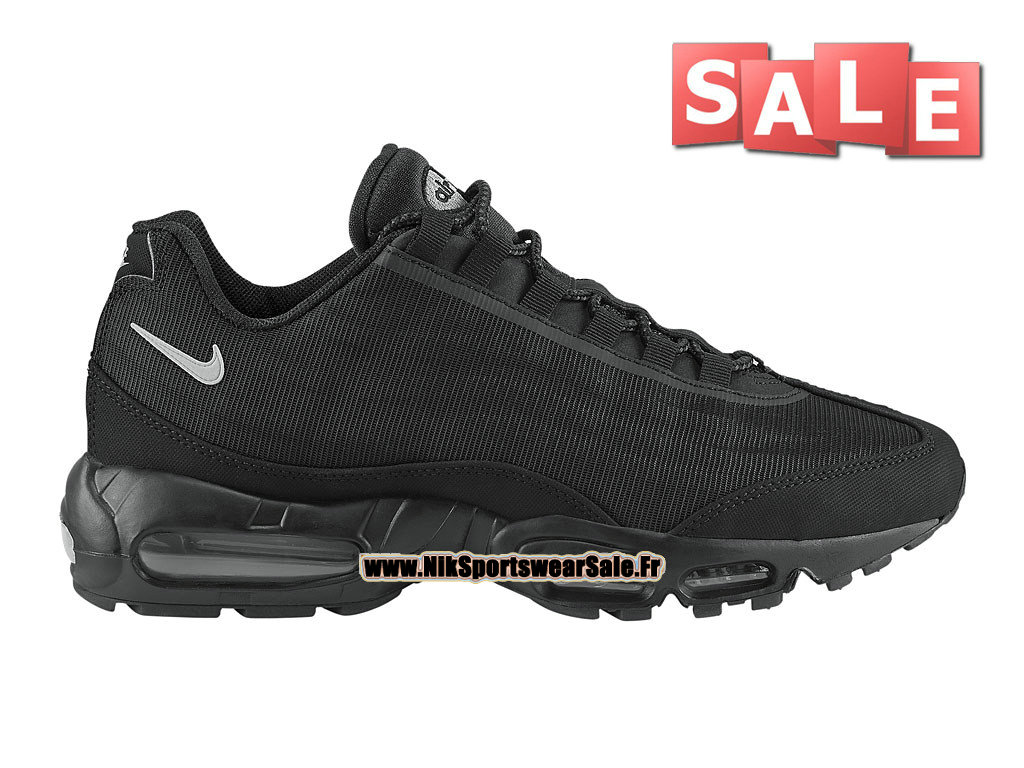 purchase cheap 44abe bf140 Nike Air Max 95 Premium Tape - Men´s Nike Sportswear Shoe Black Silver