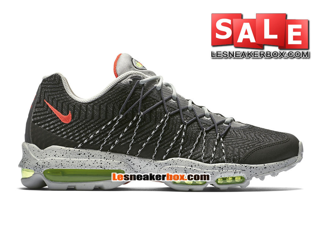 new styles ff004 42782 Nike Air Max 95 Ultra Jacquard - Chaussure Nike Sportswear Pas Cher Pour  Homme Argent nuit ...