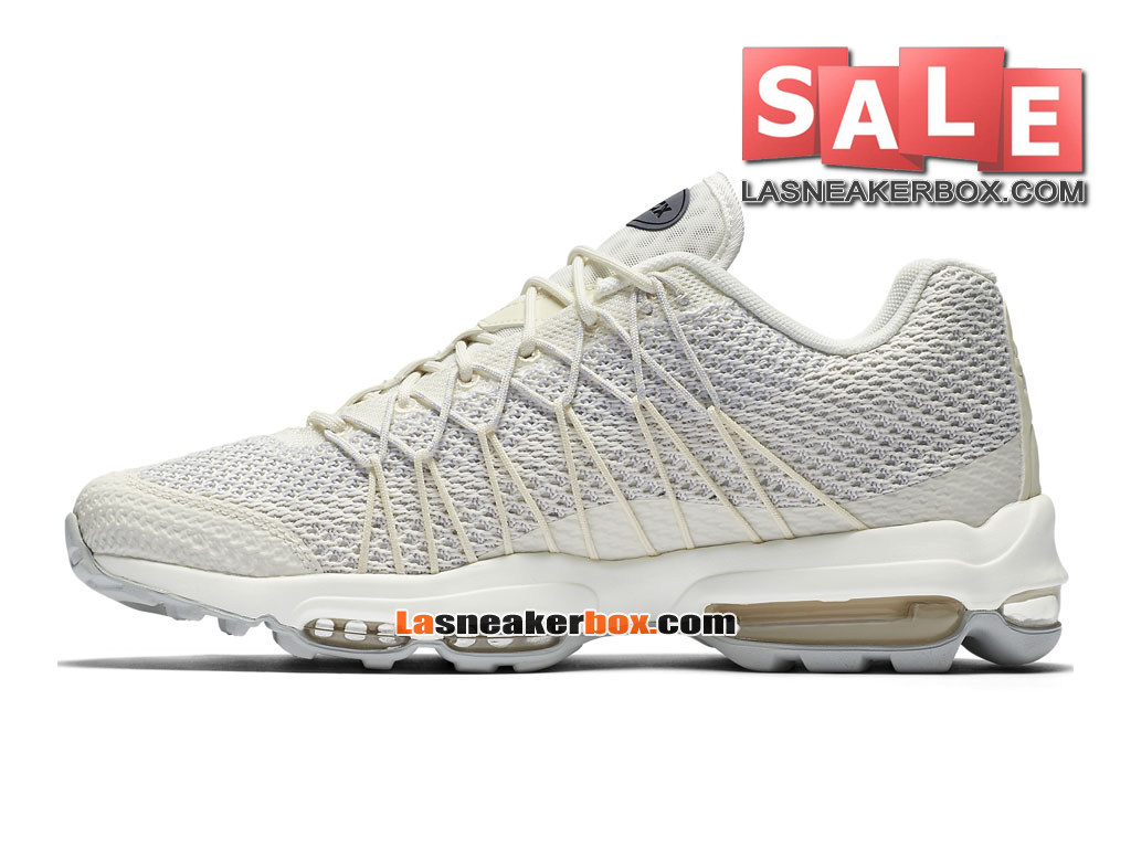 factory authentic ab5d5 ccff9 ... Nike Air Max 95 Ultra Jacquard - Chaussure Nike Sportswear Pas Cher Pour  Homme Marine  ...