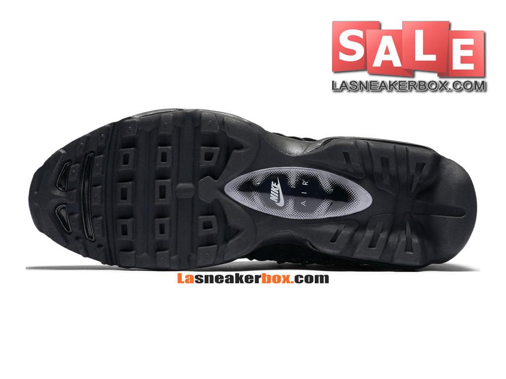 half off 5d553 dff7a ... Nike Air Max 95 Ultra Jacquard - Chaussure Nike Sportswear Pas Cher  Pour Homme Noir  ...