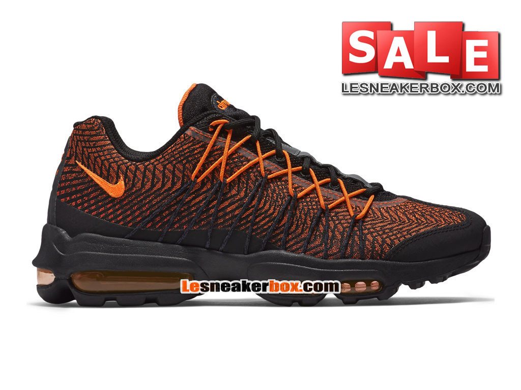 fb09c1fde3f Nike Air Max 95 Ultra Jacquard - Men´s Nike Sportswear Shoe Black Total
