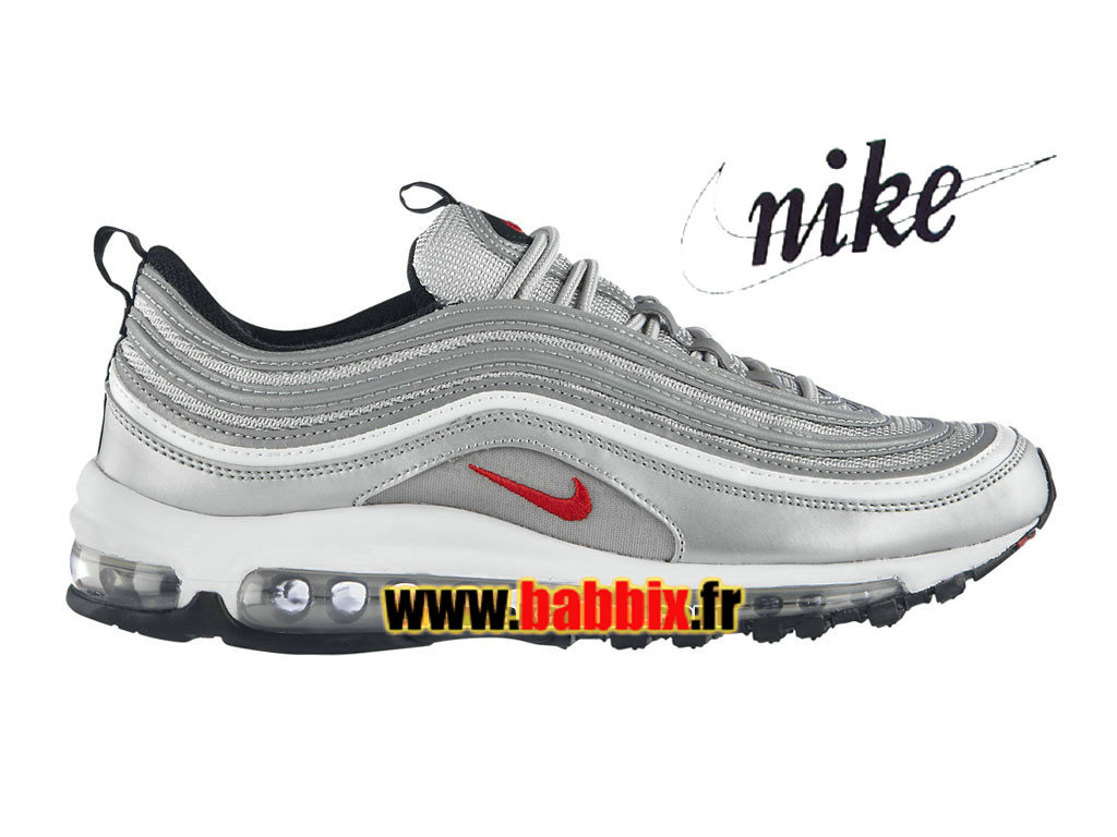 sneakers for cheap ab516 4766a Nike Air Max 97 OG - Chaussures Nike Sportswear Pas Cher Pour Homme Argent  métallique/