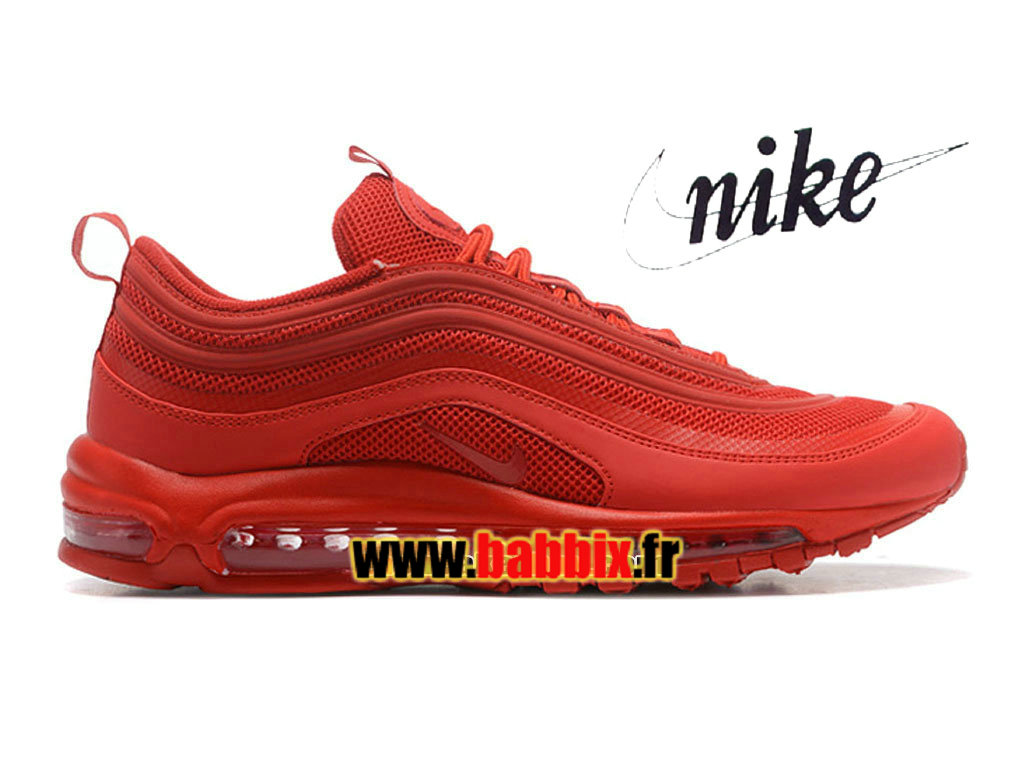 timeless design b0f93 d1a6c Loading zoom. Nike Air Max 97 Premium Tape iD - Chaussures Nike Sportswear  Pas Cher Pour Homme Rouge ...