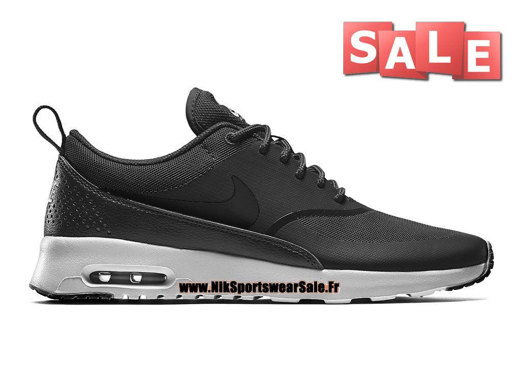 Nike Air Max Thea Chaussures Nike Sportswear Pas Cher Pour Homme NoirBlanc 599409 001H Officiel de Chaussure Nike 2017 France Babbix.FR