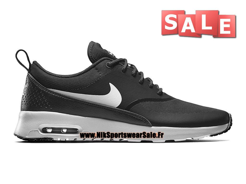 reputable site d34e1 1422b Nike Air Max Thea GS - Chaussures Officiel Nike Pas Cher Pour Femme Enfant  Noir