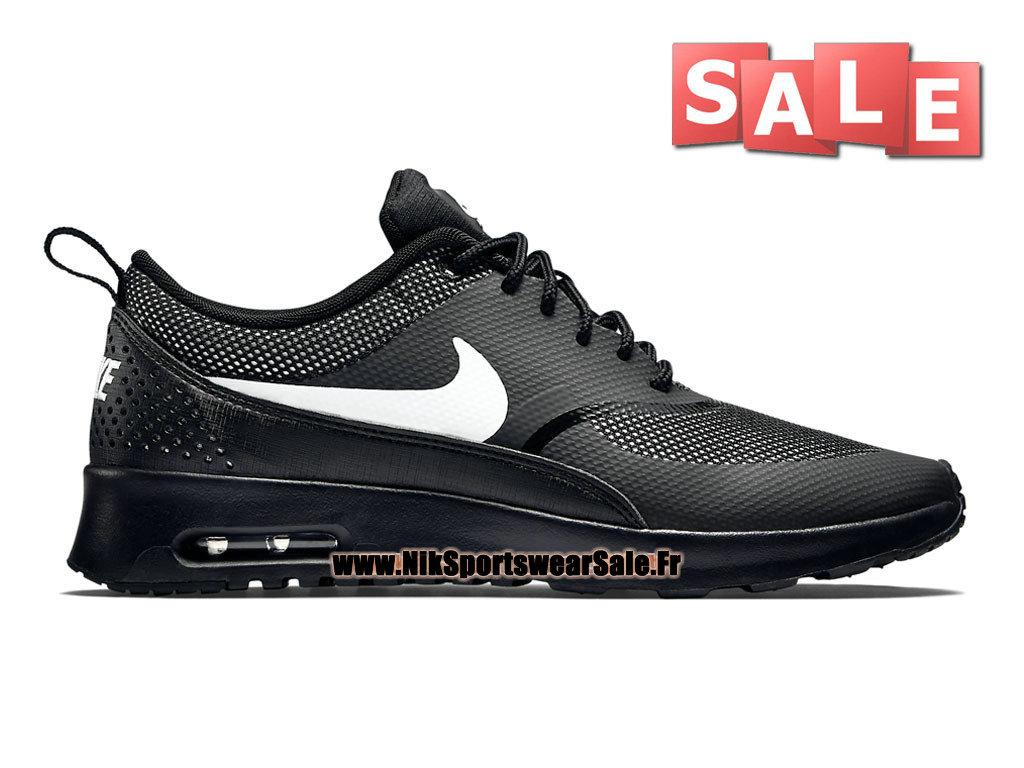 reputable site ffc63 bebc2 Nike Air Max Thea GS - Chaussures Officiel Nike Pas Cher Pour Femme Enfant  Noir